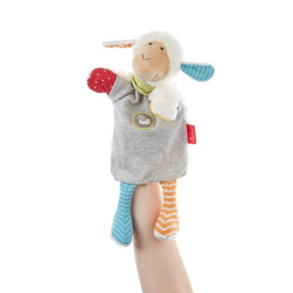 SIGIKID Schaf, Handpuppe, Wärmekissen, Schmusetuch