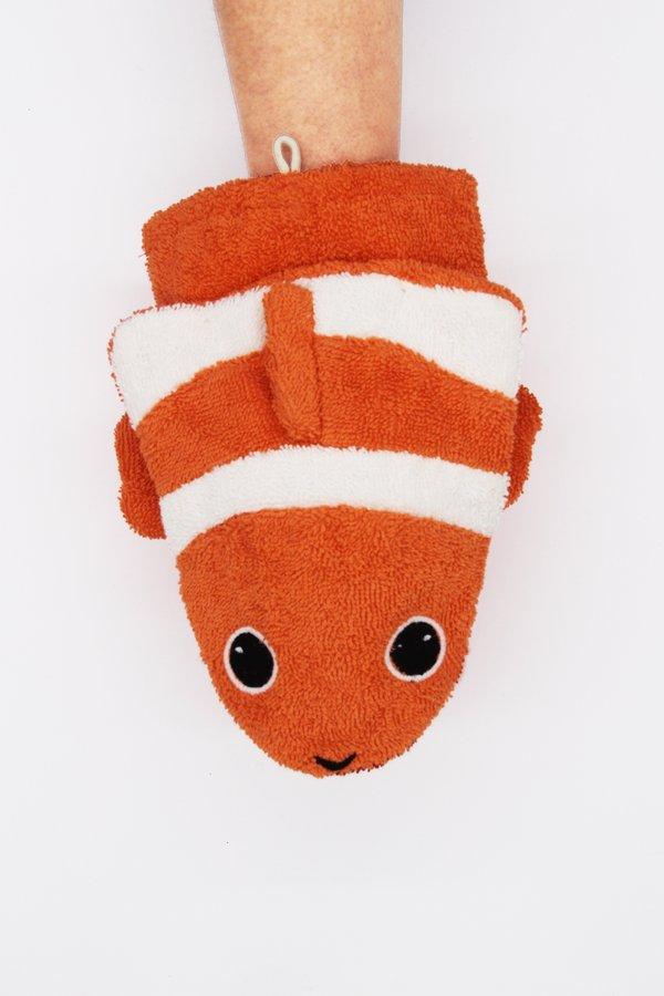 Fürnis Bio Waschhandschuh Clownfisch Conny groß