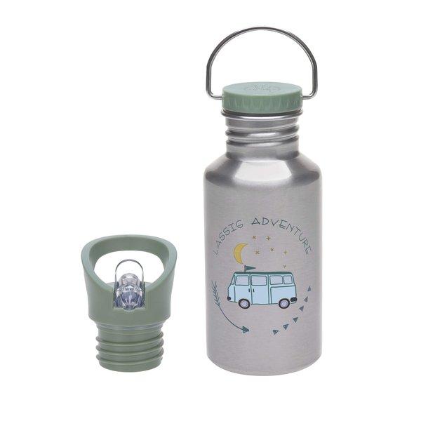 Lässig Trinkflasche, Edelstahl, Adventure