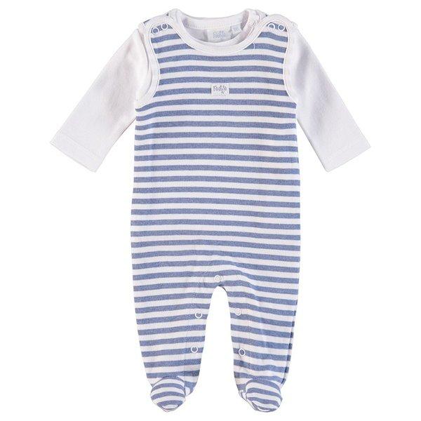 FEETJE Baby Strampler Ringel, ORGANIC