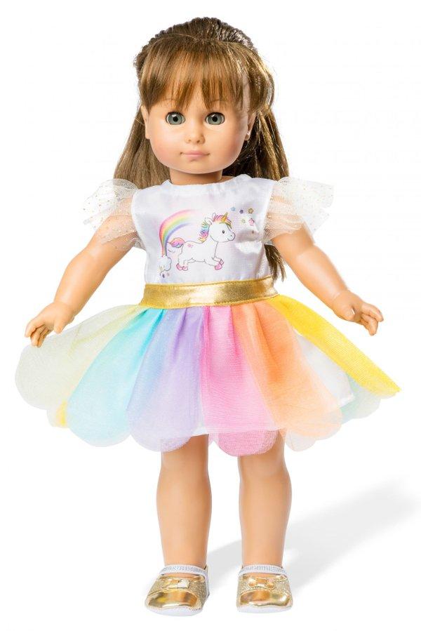 HELESS Puppenkleid Einhorn 35-45 cm