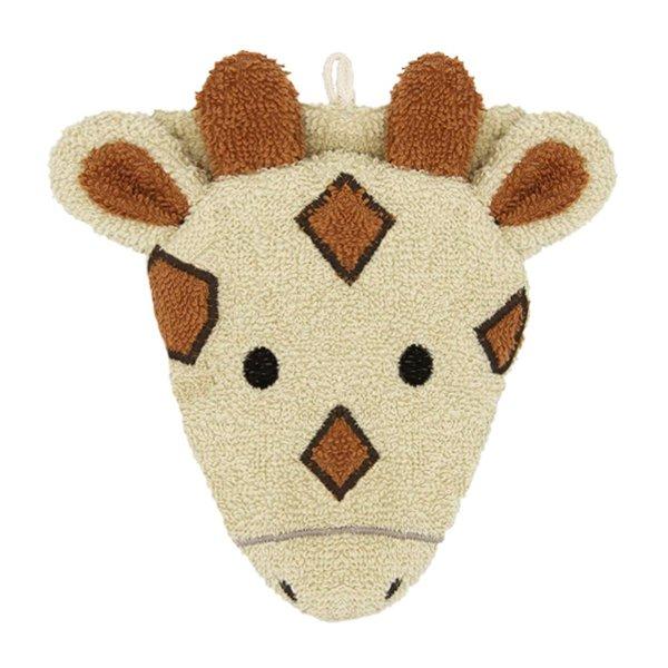 Fürnis Bio Waschhandschuh Giraffe Gisela klein