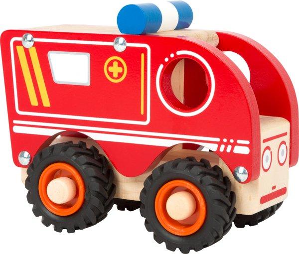 LEGLER Holzspielwaren, Krankenwagen, ab 18 Mon.