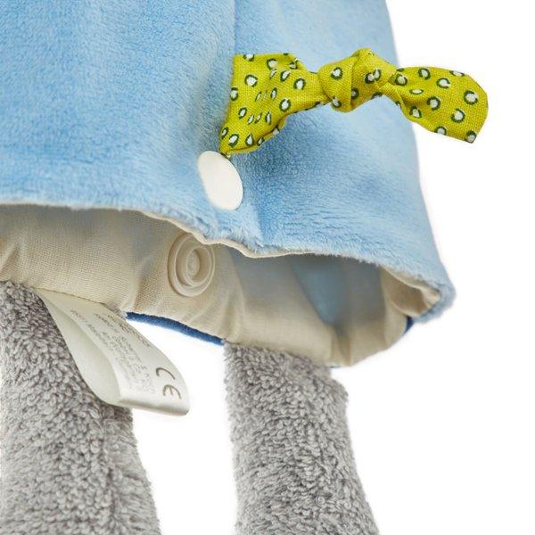 SIGIKID Elefant, Handpuppe, Wärmekissen, Schmusetuch