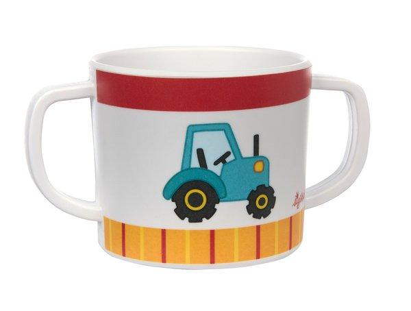 Sigikid Melamin Tasse Traktor