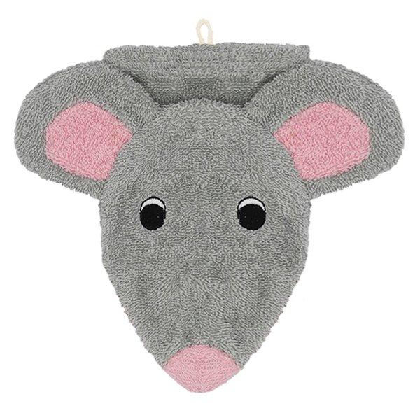 Fürnis Bio Waschhandschuh Maus Mona klein