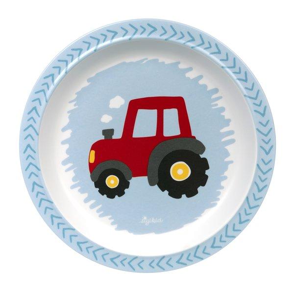 Sigikid Melamin Teller Traktor