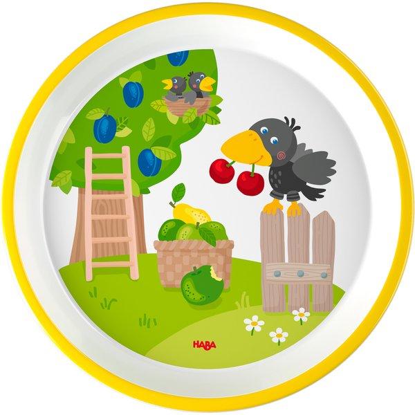 HABA Geschenk-Set Melamingeschirr Obstgarten