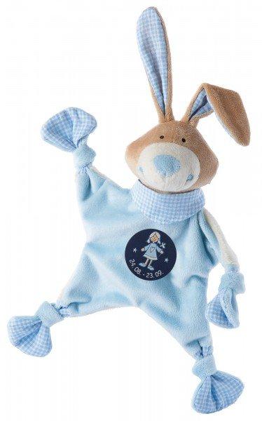 Sigikid Schmusetuch Hase mit Sternzeichen JUNGFRAU