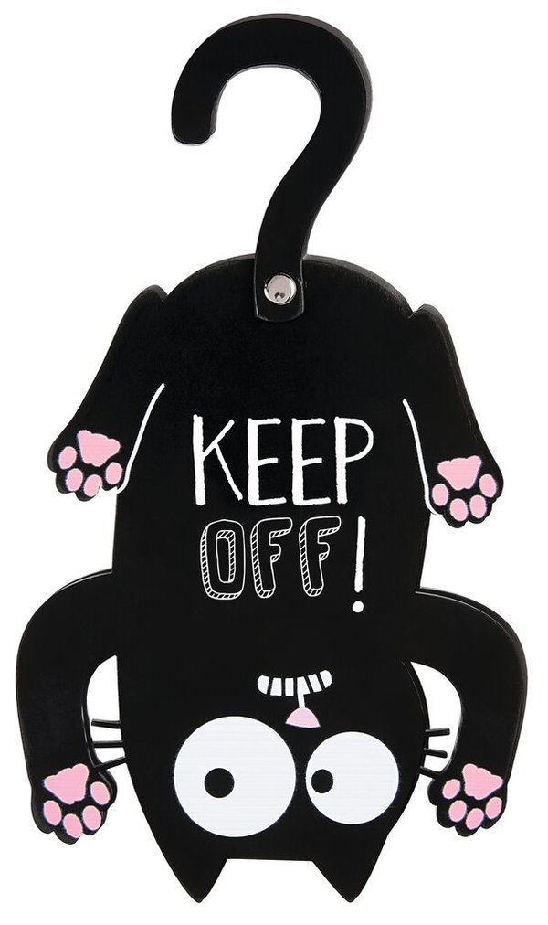 ED, THE CAT Türhänger, KEEP OFF!