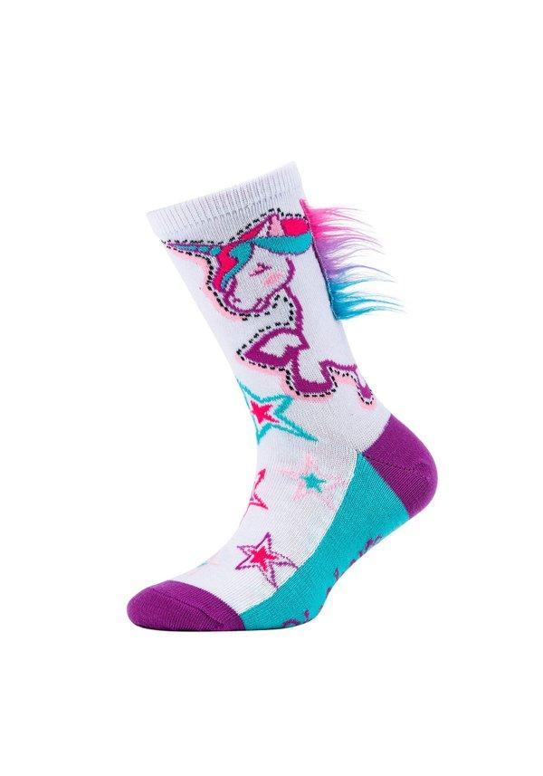SKECHERS Girls Fun Socks, 3er Pack