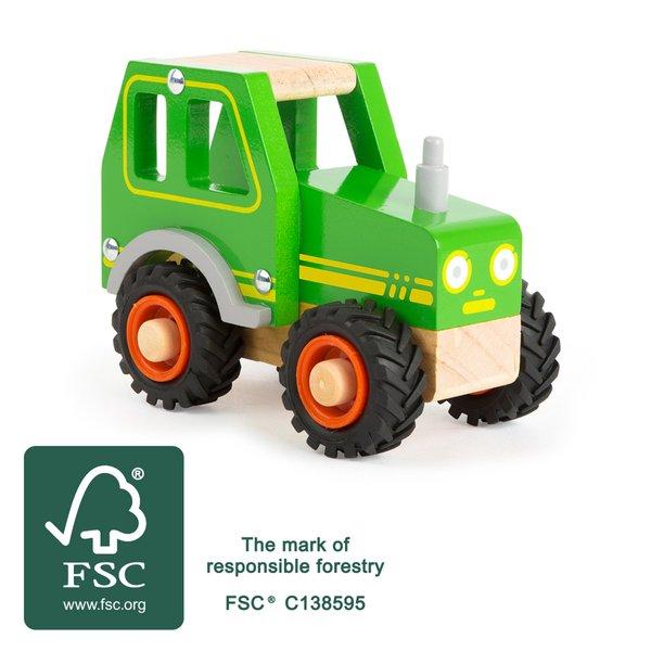 LEGLER Holzspielwaren Traktor, ab 18 Mon.
